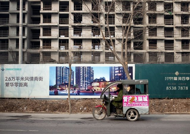 外媒:中国 – 债务和建筑工地如影随形