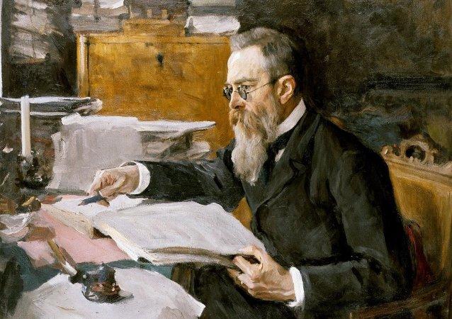 尼古拉·安德烈耶维奇·里姆斯基-科萨科夫,1898年
