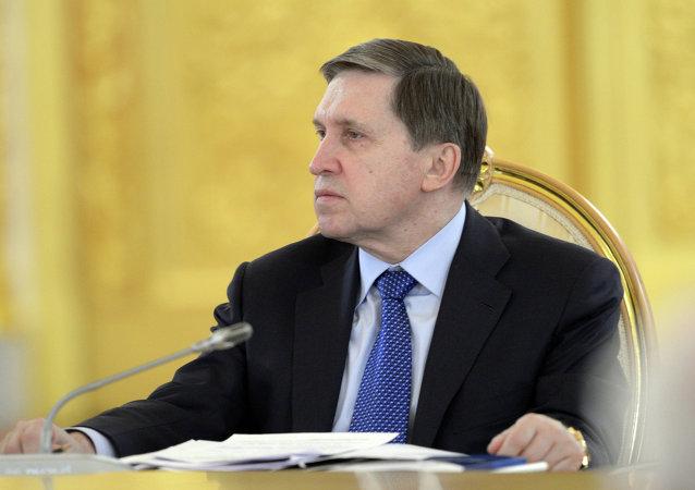 包括关于乌克兰问题解决措施在内俄总统倡议推动俄德法元首会面