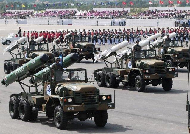 韩国军弹道导弹