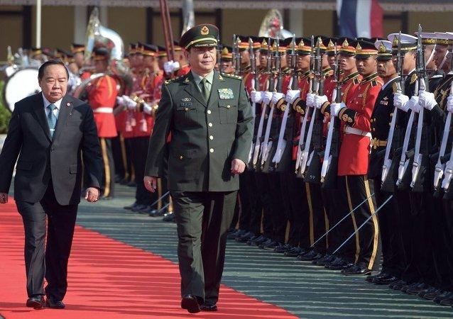 泰国与中国商定扩大在军事技术方面的合作