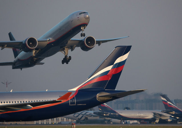 俄航俄中航线中联程客流约占60%