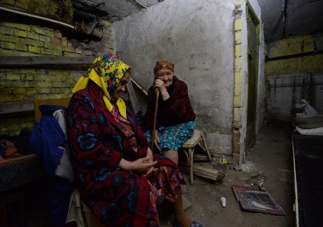 乌军对顿巴斯地区各城市的一昼夜炮击造成8死14伤