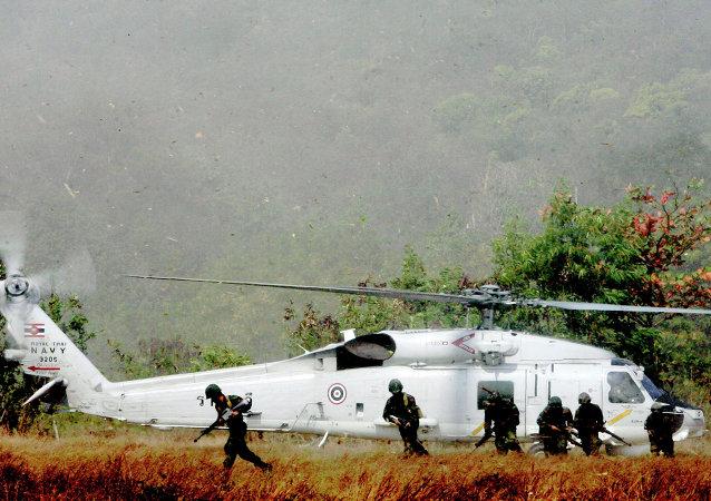 泰国当局并未允许美军留驻普吉岛