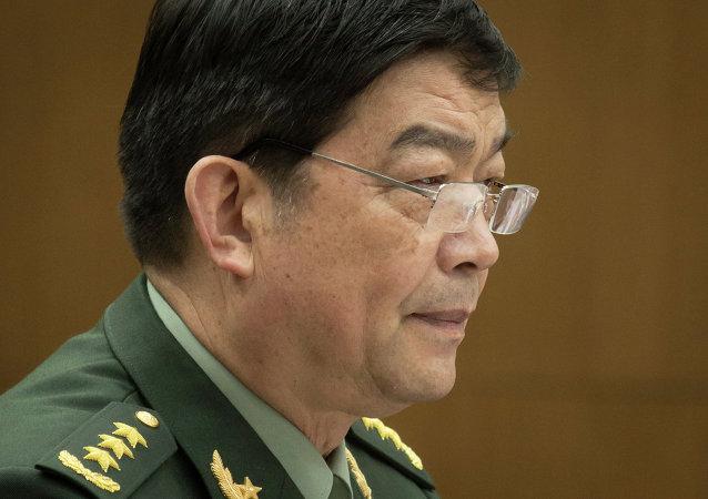 中国国防部长常万全