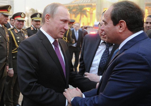 埃及总统与普京通话讨论反恐合作