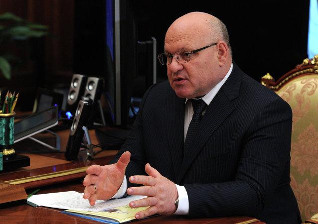 俄罗斯犹太自治州州长亚历山大•温尼科夫
