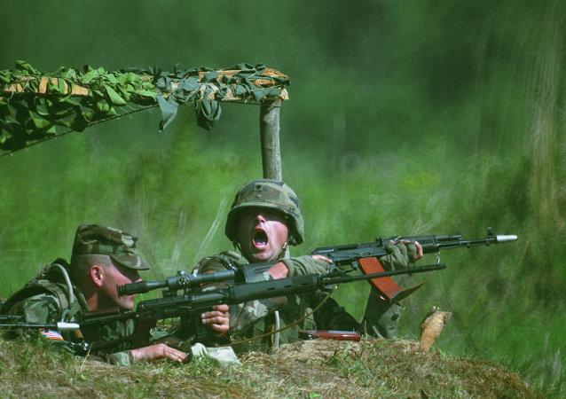 美驻欧洲陆军司令:美军3月开始训练乌克兰军人