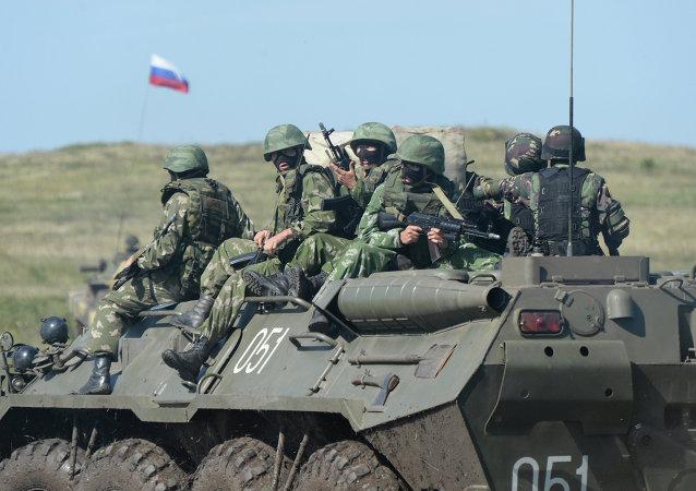 """俄蒙""""色楞格-2015"""" 反恐演习将于8-9月在俄境内举行"""