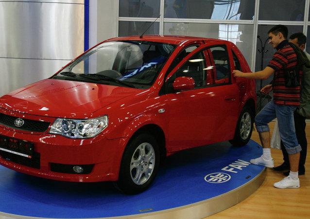 中国在俄汽车售后服务质量低于平均水平