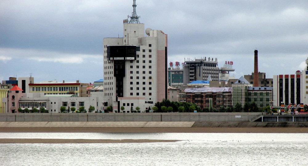 黑河建成并投入使用中国首个中俄绿色农业综合服务中心