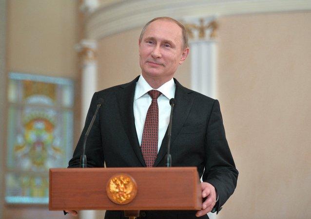 俄罗斯总统弗拉基米尔∙普京