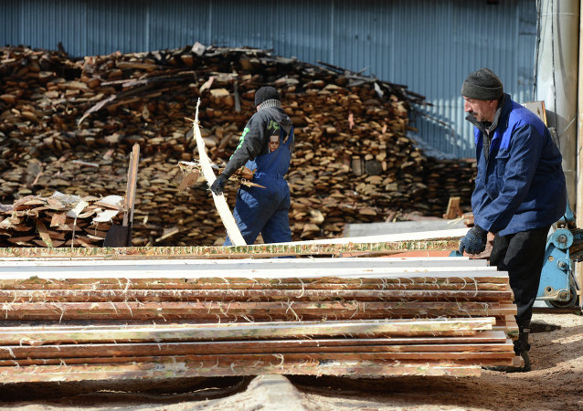 中航林业今年将在俄建成一座造价6亿多美元的MDF板生产厂