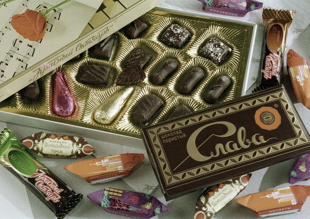 俄罗斯糖果等食品成为中国春节年货热销商品