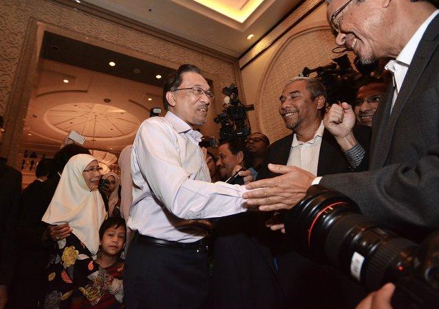 马来西亚反对党领袖安华•依布拉欣