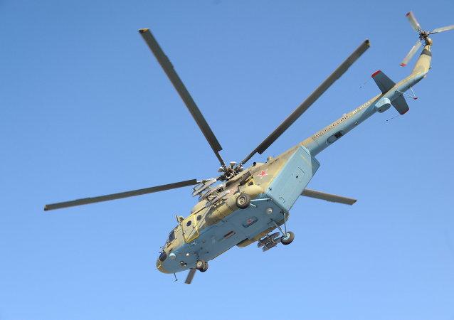 米-8AMTSh直升机