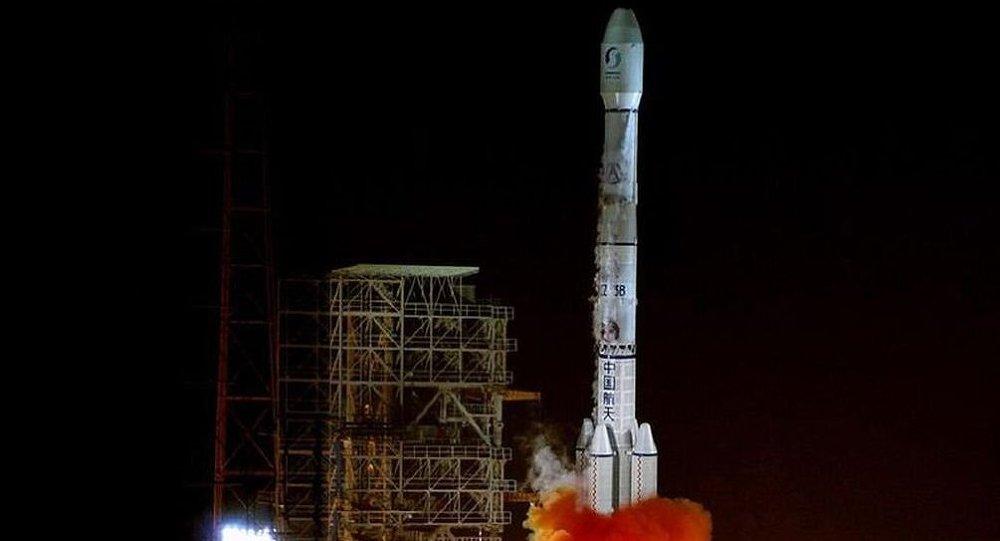 中國發射了遠程遙感衛星