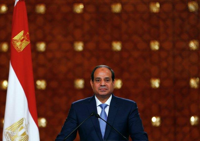 埃及总统阿卜杜勒∙法塔赫∙塞西