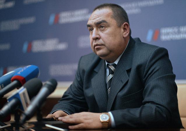 卢甘斯克共和国领导人伊戈里·普罗特尼茨基
