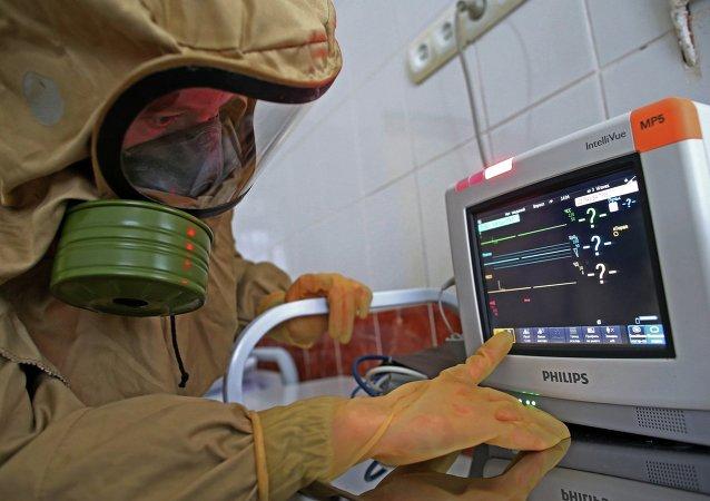 俄卫生部:俄罗斯抗埃博拉病毒疫苗将于2月15日在日内瓦展出