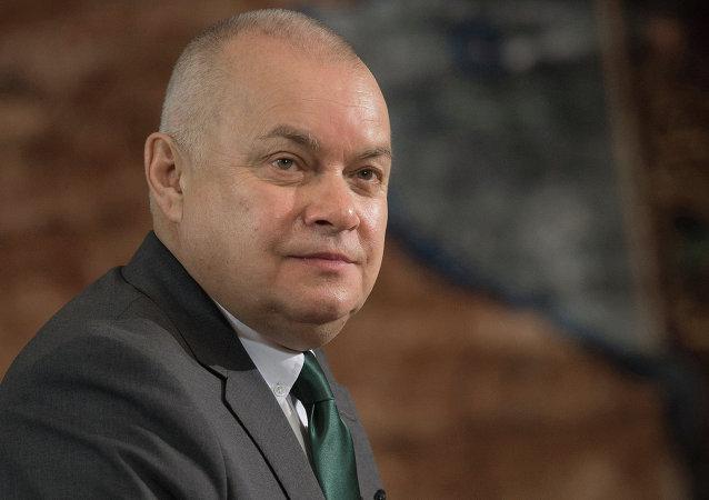 """""""今日俄罗斯""""国际新闻通讯社总经理基谢廖夫"""