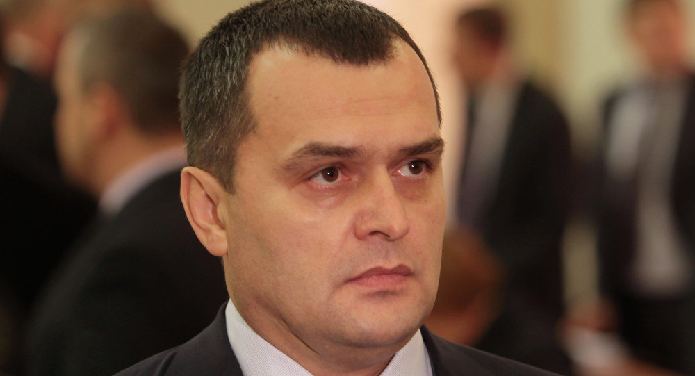 乌克兰前内务部长维塔利•扎哈尔琴科