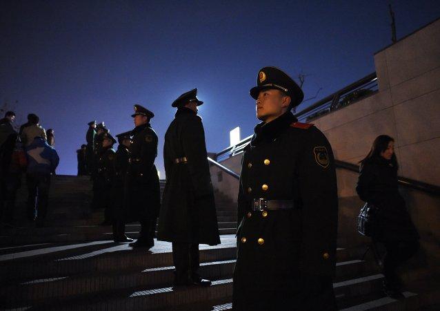 中国警察员(资料图片)