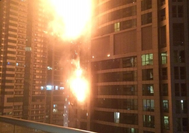 迪拜,大火