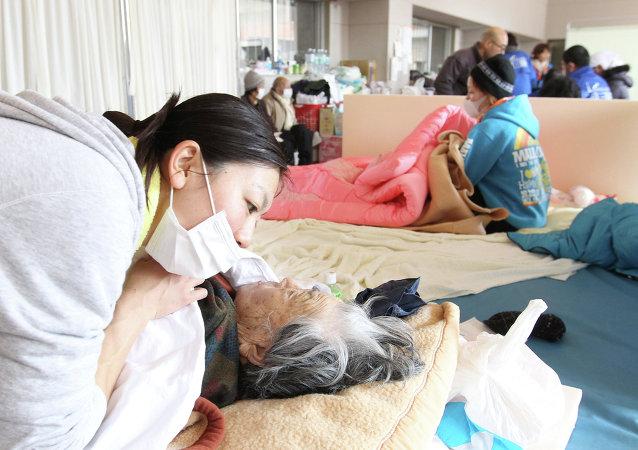 日本: 2011年海啸遇难者