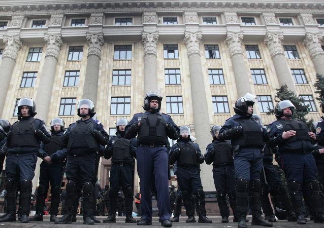 哈尔科夫游行期间爆炸致2死15伤