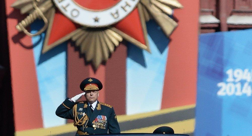 俄罗斯陆军总司令奥列格•萨柳科夫