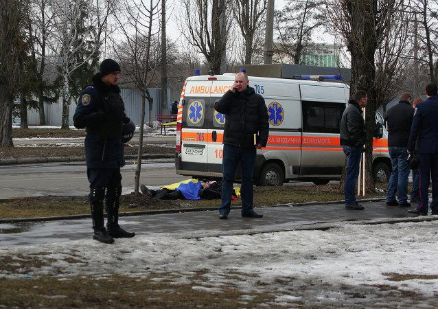 乌安全局拘留哈尔科夫爆炸案嫌疑人