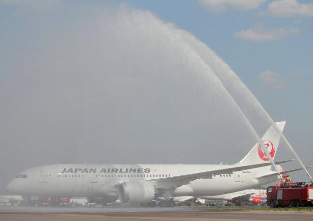 日本航空公司的波音 787