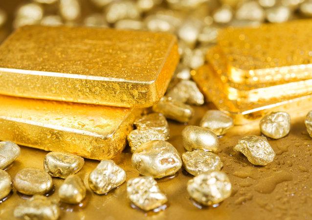 俄阿穆尔州居民在森林中发现装有将近1千克黄金的罐子