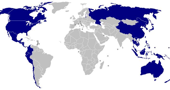 亚太地区国家