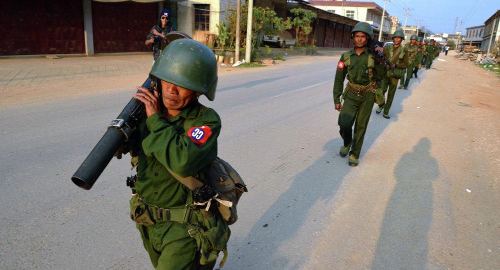 缅甸政府军队