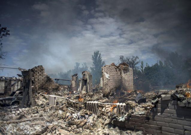顿涅茨克国防部称民兵从乌军无人机截获大量军事情报