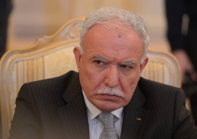 巴勒斯坦外长利亚德·马利基
