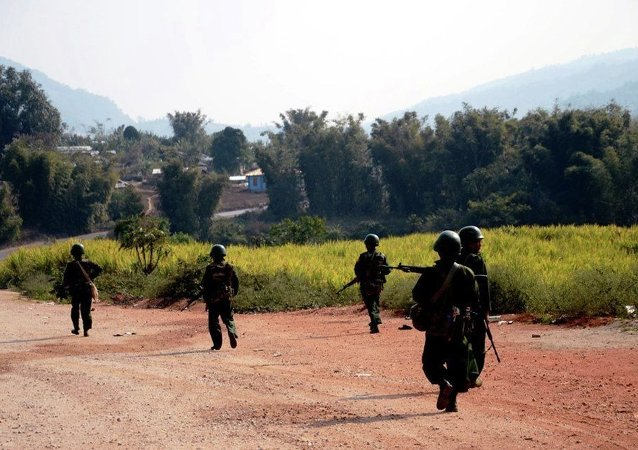 与中国交界的缅北冲突再度升级