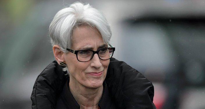 美国前副国务卿谢尔曼(Wendy Sherman)
