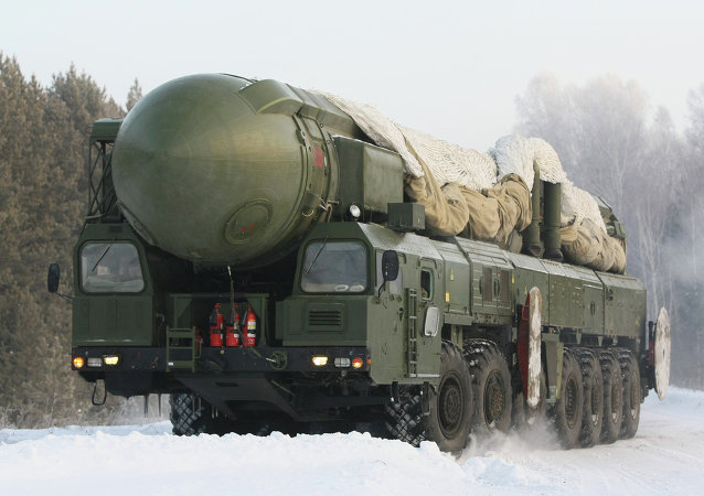 俄国防部:俄战略火箭军40余单位2016年将演练高度战备执勤