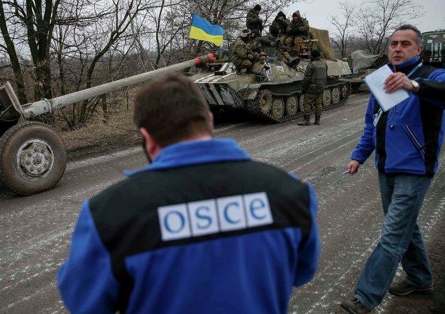 乌东部两人民共和国从2014年9月19日的阵地位置后撤 乌军从当前位置后撤