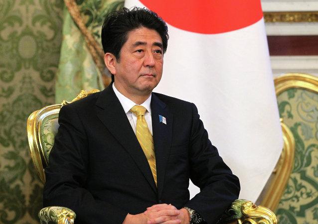 日本首相安倍晋三领导的自民党支部发生捐款丑闻