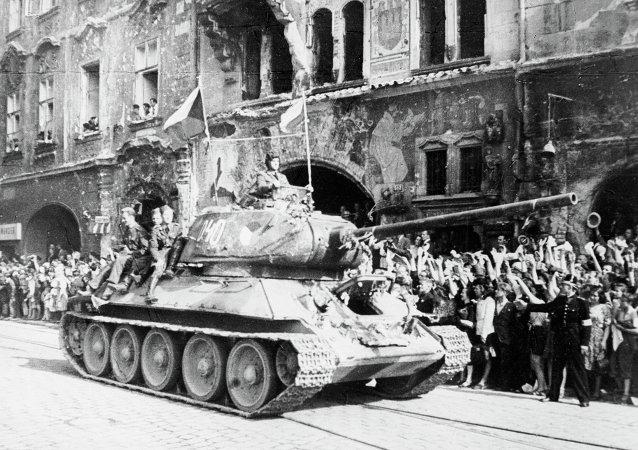 苏联红军解放布拉格 (1945年5月)