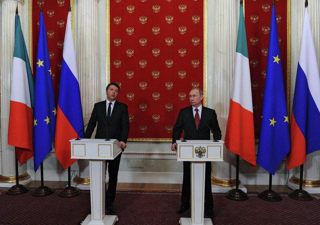 普京:俄意在乌克兰冲突各方应遵守明斯克协议问题的立场上一致