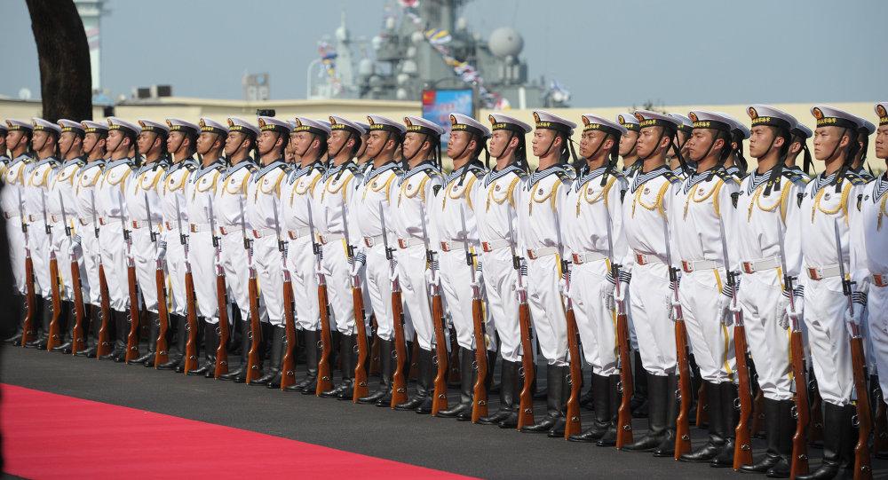 中国海军职人员