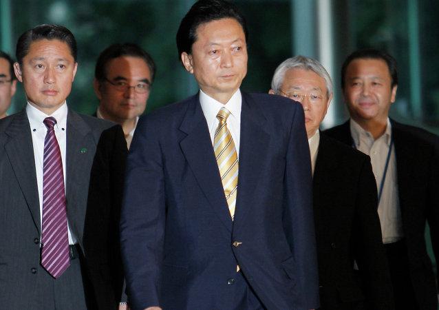 日本前首相鸠山由纪夫认为3月16日克里米亚公投符合民主规则