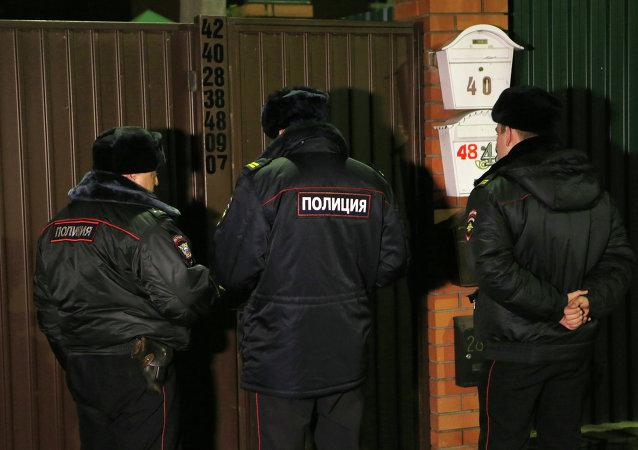 俄罗斯警察/资料图片/