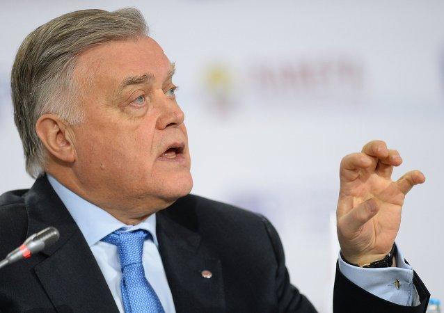 俄罗斯铁路股份公司总裁弗拉基米尔•亚库宁