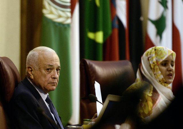 阿拉伯联盟秘书长阿拉比/资料图片/